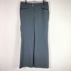 Athleta Hiking Pants Stretch Full Length Gray 343